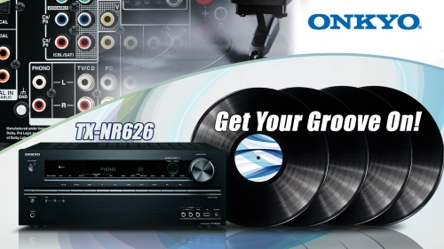 TX-NR626 with Phono Inputs